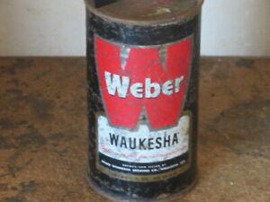 WEBER. BEER. SOLID.   BLACK WAUKESHA.   FLAT TOP