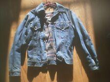 Vintage Levis 559Xx Big E Jacket Blanket Lined Denim Jean Made In Usa mens 34