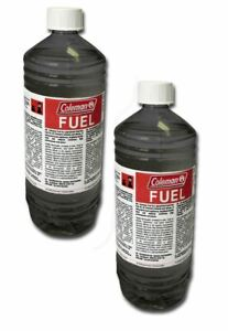 Coleman Liquid Lead Free Fuel 2 x 1L Bottles for Dual Fuel Stoves and Lanterns