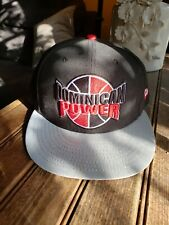 """DOMINICAN Power Rare New Era 9Fifty  """"4U"""" Exclusive Snapback Black and Red Hat"""