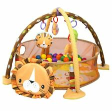 3 in 1 Baby Cartoon Toys Activity Gym Play Mat & Ball Pit Infant Floor Gym Mat
