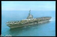 USS Wasp CVS-18 postcard US Navy ship aircraft carrier