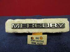 1985-89 MERCURY COUGAR  RADIATOR GRILLE NAMEPLATE EMBLEM  NOS FORD  616