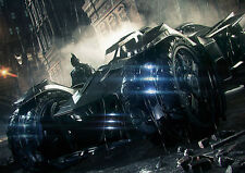 Batman The Dark Knight BatMobile Art Large Poster Print - A0 A1 A2 A3 A4