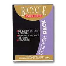 Stripper Deck Bicycle (Red) by US Playing Card ships from Murphy's Magic