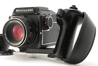 """NEAR MINT"" MAMIYA M645 w/ 80mm f2.8 lens and Waist level finder From JAPAN"