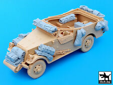 Blackdog Models 1/35 U.S. M3A1 SCOUT CAR ACCESSORIES SET Resin Set