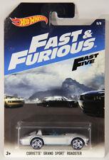 L002273 Hot Wheels Die-Cast 2016 / Fast & Furious # 5/8 CORVETTE SPORT ROADSTER