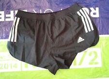 adidas adizero split shorts track & field running marathon Large Black AI3183