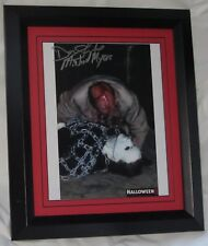 DON SHANKS SIGNED HALLOWEEN 5 MICHAEL MYERS SIGNED FRAMED  AUTHENTIC AFTAL #199