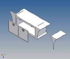 A3vl-profilo completamente ingorghi Scatola per TAMIYA ACTROS 3-camion m1:14 SINISTRO