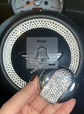 Silver Crystal Remote Key Case Holder Shell Protect Cover MINI Cooper&Countryman
