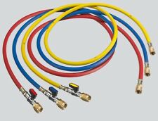 Refco R410A CHARGING HOSE SET 3Pcs Blue, Red & Yellow- 900mm Or 1500mm