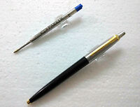 Parker Jotter Standard GT Ball Point Pen BallPen Black Body Brand New - loose