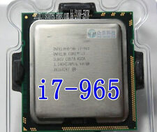 Free shipping SLBCJ Intel Core i7 Extreme Edition 965 I7-965 CPU 3.2 GHz LGA1366