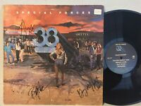 38 Special Special Forces VG+ SIGNED 3 MEMBERS southern rock
