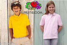 T-shirt Fruit of The Loom Maglietta Uomo Maglia cotone Manica corta Cotton