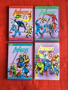 comics marvel The Avengers Intégrale 1969, 1970, 1971 Et 1972. (librairie)