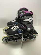 Bladerunner Phoenix G Rollerblades Boy's Size 1-4 (Adjusts 4 Sizes) Blk/Purp