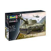 Revell M109us Army Tank Model Kit 03265 - M109 Us 172 Military