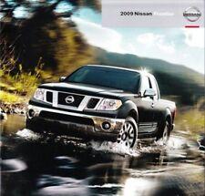 2009 09 Nissan Frontier original sales brochure Mint