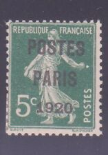 """FRANCE PREOBLITERE 24 """" POSTES PARIS 1920 """" NEUF x TB"""
