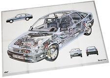 Opel Vectra Poster Beilage Opel Start 1989 Auto PKWs Deutschland Verkehr Europa