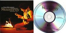 "Jimi Hendrix Experience ""Live at Monterey"" Advance CD"