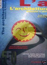 L'ARCHITETTURA [550/2001] FULL INDEX INSIDE