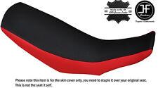 RED & BLACK CUSTOM FITS HONDA CRF 250 L 12-16 DUAL LEATHER SEAT COVER
