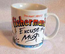Vintage Fisherman'S Excuse Mug Coffee Mug S35