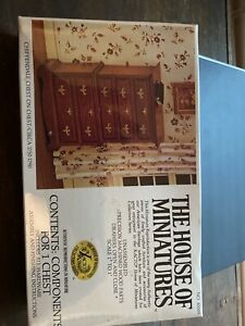 The House of Miniatures Chippendale chest kit # 40009 - New