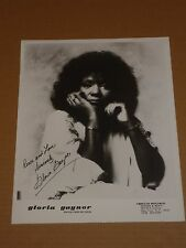 Gloria Gaynor 1979 10 x 8 US Agency Publicity Photo (1)