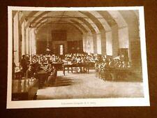 """Milano nel 1902 Orfanotrofio femminile """"Le stelline"""" Corso Magenta Laboratorio"""