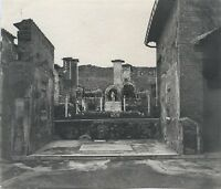 Pompei Italia Foto Hobbisti Vintage Ca