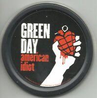 GREEN DAY american idiot 2004 circular STASH TIN usa IMPORT - no longer made