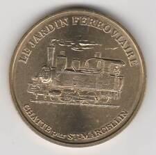 -- 1998 COIN MEDAILLE JETON MONNAIE DE PARIS -- 38 160 LE JARDIN FERROVIAIRE