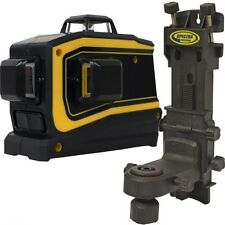 Spectra Laser LT58 Green Beam Self Leveling 3-Plain Cross Line Laser Level