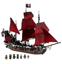 New 16009 Queen Anne's Revenge Ship Pirates of the Caribbean Building Blocks