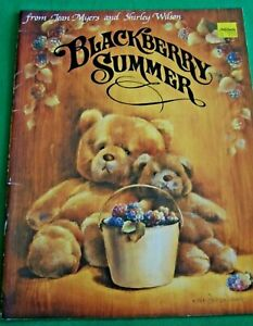 BLACKBERRY SUMMER JEAN MYERS & SHIRLEY WILSON 1987 TOLE PAINT PATTERN BOOK