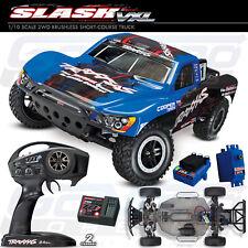 NEW Traxxas 1/10 Slash VXL Brushless 2WD RTR Short Course Truck Blue *SHIPS FREE