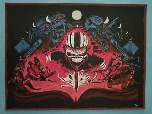 """Iron Maiden   """"Book of Souls""""   Signed Print / Limited Edition of 200"""