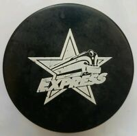 RONOKE EXPRESS VINTAGE ECHL OFFICIAL HOCKEY PUCK made in CZECHOSLOVAKIA SCARCE