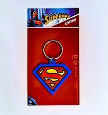 DC Comics Superman PVC Keychain Keyring Key Fob