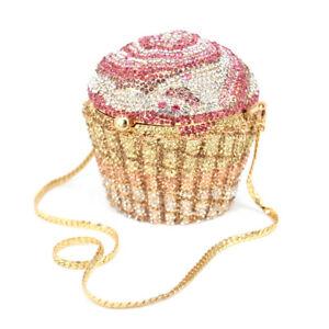 Mini Crystal Cupcake Handbag