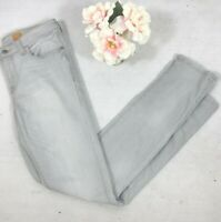 Pilcro and the letterpress Anthropologie Stet light wash skinny jeans 27 stretch