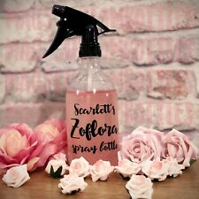 Personalised Zoflora Spray Bottle | Custom With Any Name | Mrs Hinch Army
