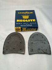 Vintage Goodyear Neolite Men's Washer Half Brown Half Heels 11-11 Vintage Shoes