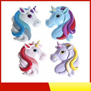 UNICORN FRIDGE MAGNET Magnetic Little Pony Magnets Girls Toy Gift Stocking UK