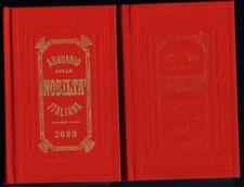 Annuario della nobiltà Italiana due volumi 2000 XXVIII edizione TERZA SCELTA